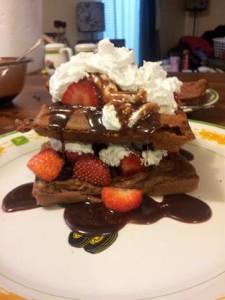 Neopolatin Waffles