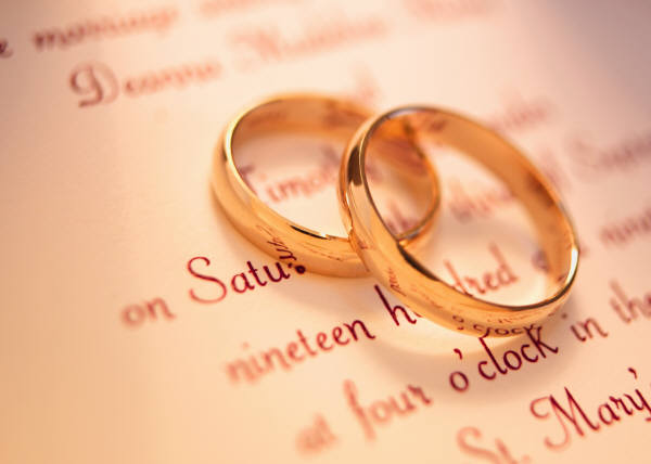 we broke a cardinal rule of society - Picture Of Wedding Rings
