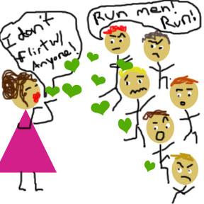 flirt run run