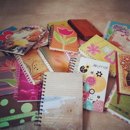 old_journals_diaries_pile_of_diaries_chronicles_of_life